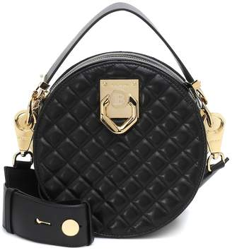 Balmain x Cara Twist leather crossbody bag
