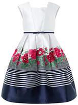Monsoon Fran Border Dress