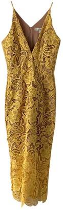 Dress the Population Yellow Dress for Women