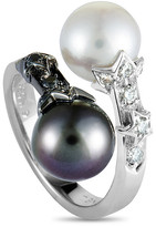 Heritage Chanel Chanel 18K Pearl Ring
