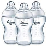 Tommee Tippee Closer to Nature® 3-Pack 11 oz. Added Cereal Clear Bottles