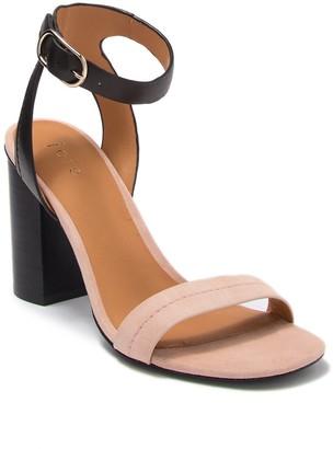 Joie Okaba Leather Block Heel Sandal
