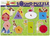 Melissa & Doug Winnie the Pooh Shapes Wooden Sound Puzzle