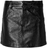 Chloé patent pelmet skirt