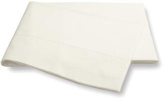Matouk Luca Hemstitch Flat Sheet - Ivory Full/queen