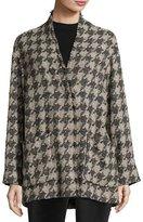 Isabel Marant Woven Houndstooth Coat
