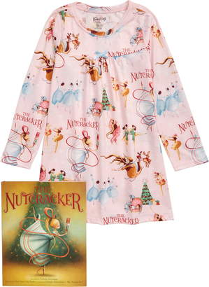 Books to Bed The Nutcracker Fitted Nightgown & Book Set