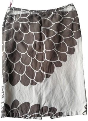 Prada Ecru Cotton Skirt for Women