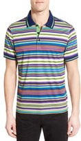 Bugatchi Men's Mercerized Cotton Polo