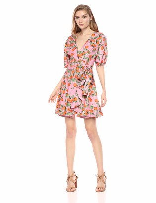 Finders Keepers findersKEEPERS Women's Sleeve Short WRAP Fashion Dress