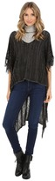 BCBGeneration Knit High-Low Poncho