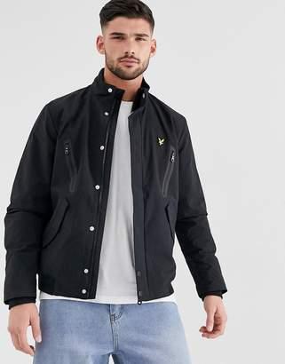 Lyle & Scott panelled jacket-Black