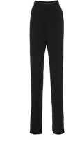 Maison Rabih Kayrouz Black High Waisted Crepe Trousers