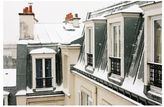 Pottery Barn Montmartre Rooftops in the Snow Framed Prints by Rebecca Plotnick
