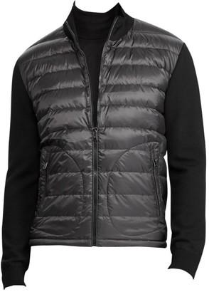 Ralph Lauren Purple Label RLX Wool & Quilted Nylon Jacket