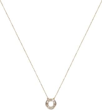 Adina Reyter Baguette Circle Necklace
