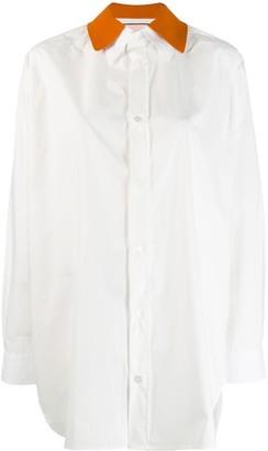 Plan C Popeline classic shirt