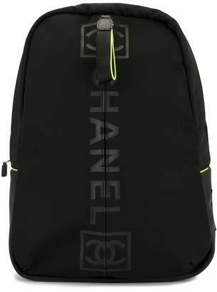 Chanel Pre-Owned Sports line backpack