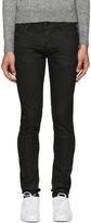 Diesel Black Coated Sleenker Jeans