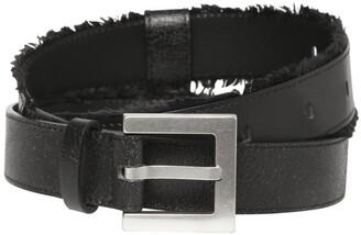 Ader Error 3cm Leather Belt W/ Fringe Details