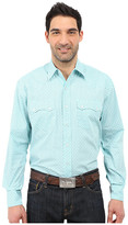 Stetson Box Foulard Long Sleeve Snap Front Shirt
