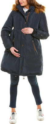 Kimi + Kai Maternity Lily Down Coat