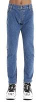 Balmain Logo Printed Straight Jeans