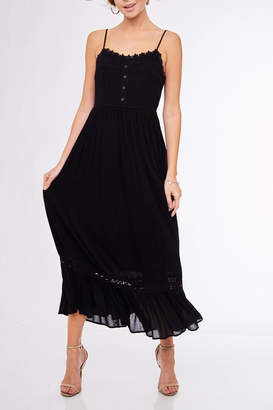 L Love Black Maxi Dress