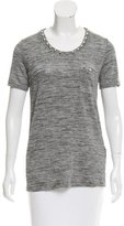 The Kooples Embellished Short Sleeve Top w/ Tags