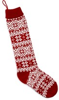 Bloomingdale's Snowflake Knit Stocking - 100% Exclusive
