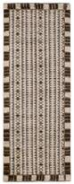 GRIT&ground Uppsala Runner Rug - Brown/Yellow, 2.5' x 7'