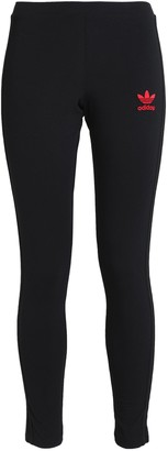 adidas Embroidered Stretch-cotton Leggings