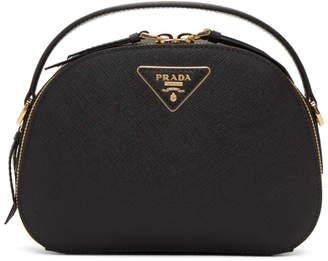 Prada Black Odette Double Zip Bag