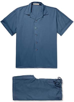 Cleverly Laundry Washed-Cotton Pyjama Set