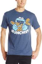 Sesame Street Men's Cookie Munchies Logo Tee