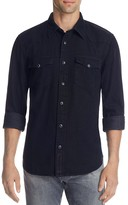 Jean Shop Garth Black Wash Regular Fit Button-Down Shirt