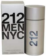 Carolina Herrera 212 By For Men. Eau De Toilette Spray 3.4-Ounces