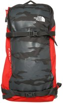 The North Face Slackpack 20 Backpack Asphalt Grey/fiery Red