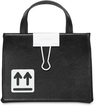 Off-White Baby Box Leather Bag