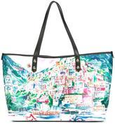 Love Moschino landscape print tote