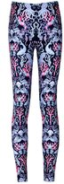 Lady Queen Women's Sea World Printed Sexy Skinny Ninth Pants Basic Leggings M