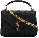 Saint Laurent medium 'Collège Monogram' tote - women - Calf Leather - One Size