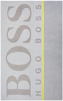 HUGO BOSS Graphic Beach Towel - Sun