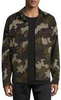 Tomas Maier Button Front Camo Jacket
