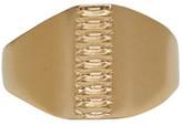 Maison Margiela Gold Replica Pony Ring