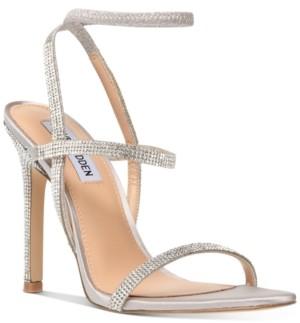 Steve Madden Nectur-r Rhinestone Stretch Dress Sandals