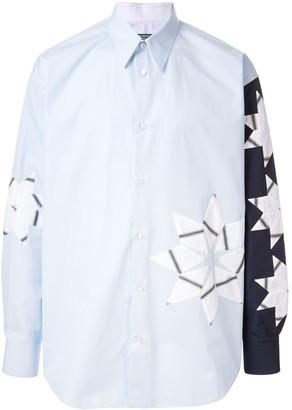 Calvin Klein Contrast Sleeve Shirt