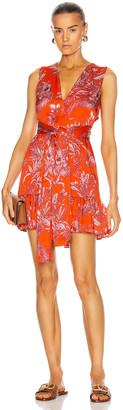Alexis Cassara Dress in Mandarin Palm | FWRD