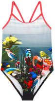 Paul Smith Printed one-piece swimsuit
