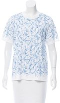 Tory Burch Abstract Print T-Shirt